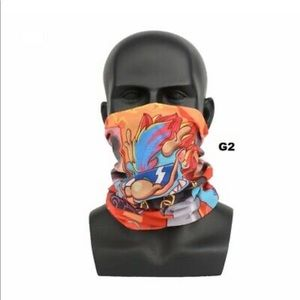 Tube Bandana Scarf Neck Gaiter Head 3D Face Mask